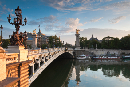 Pont Alexandre and Grand Palais
